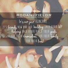 Rodan + Fields is an amazing opportunity. Get paid to wash your face and talk about it. Build your own team, make your schedule and no inventory or parties required.