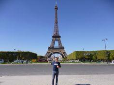 Damien de l'équipe ISPA est de retour à Paris ! Avec le tee-shirt des #Seahawks , l'équipe de football américain de Seattle