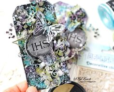 Olya Kravets: Mixed-media tags and new Vidio Tutorial for Scrapiniec