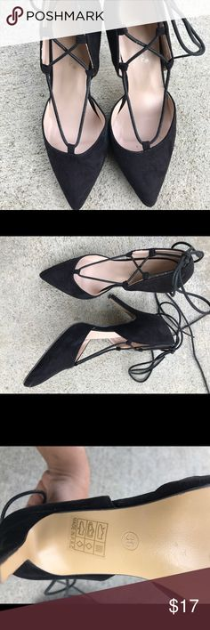 Sexy Black Stylish Heels Pumps Stilettos Super cute black heels perfect for clubbing, parties, dinners and even casual days. There are some scuffs on the heels as pictured. MAKE AN OFFER!  #black #heels #cute #girly #sheek #classy #shoes #clubbing #club #simple #girl #ootd #sexy #hot #boho #bohemian  #highheels #pumps #straps #trendy Shoes Heels