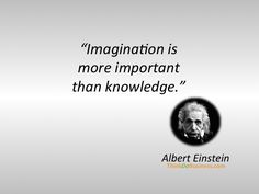 Einstein on imagination.   10 Quotes That Inspire Persistence