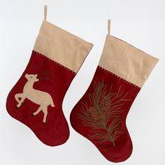 2 Christmas stockings - Boys