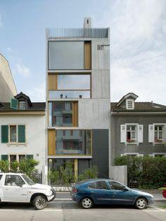 Wohnturm Bläsiring / Buchner Bründler Architekten