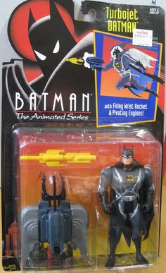 Wave 1 - BATMAN ANIMATED SERIES Turbojet Batman 1992 Kenner Action Figure