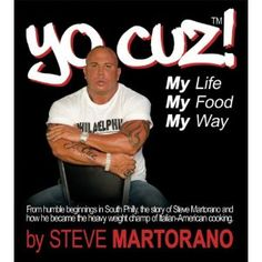 He is so sweet and kind to all his customers , its been a pleasure knowing and becoming friends with; Yo Cuz! by Chef Steve Martorano