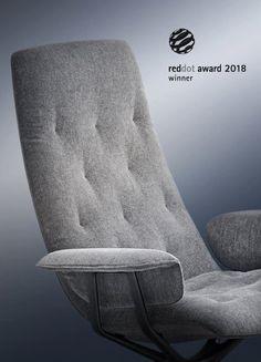 """Hledáte-li moderní kancelářské křeslo, které bude působit neformálně, ale zároveň poskytovat maximální pohodlí při práci i relaxaci, je jím křeslo Healey Soft značky Walter Knoll. Díky své jedinečnosti a kvalitě získává jedno ocenění za druhým. Po obdržení ceny ,,Iconic Award 2018: Innovative Interior, Best of Best"""" získalo i cenu Red Dot Award: Product Design. Gratulujeme! Chair, Interior, Furniture, Home Decor, Decoration Home, Indoor, Room Decor, Home Furnishings, Stool"""
