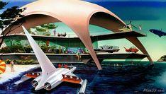 Dark Roasted Blend: Retro-Future: Glorious Urbanism Robot Technology, Technology World, Futuristic Technology, Technology Gadgets, Tech Gadgets, Plywood Boat Plans, Wooden Boat Plans, Wooden Boats, Future City