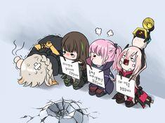 소전) 벌받는 AntiRain과 404   유머 게시판   루리웹 모바일 One Punch Anime, Character Art, Character Design, Girls Frontline, Art Station, Anime Art Girl, Anime Girls, Illustrations And Posters, Best Funny Pictures