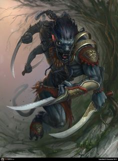 Demonic Raksasha warrior
