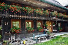Germany The Black Forest/Old Black Forest house near Titisee ...