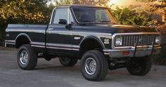 Cheyenne Chevy Super 4x4 ('72)