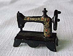 Miniature Singer Treadle Sewing Machine