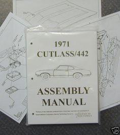 72 oldsmobile 442 manual