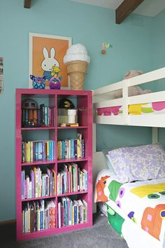painted hot pink, girl's room Bathroom Images, Kitchen Images, Ikea Ps Cabinet, Australia House, Ikea Expedit, Pelmets, Laminated Glass, Bedroom Photos, Study Space
