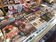 Looking for a Shop in Boston with a great selection of Sports Card Hobby Boxes?