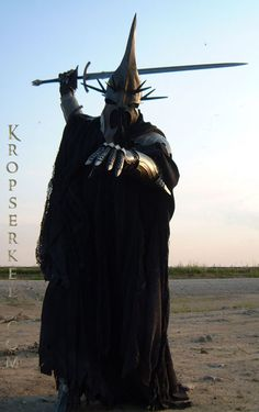 Kropserkel: Dark Rider Nazgul WitchKing costume and armor