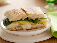 Taleggio and Pear Panini Recipe : Giada De Laurentiis : Food Network - FoodNetwork.com