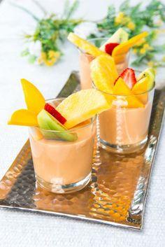 Creme de leite com frutas TeleCulinária 1836 - www.teleculinaria.pt