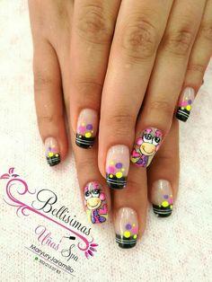 French Manicure Nails, Manicure And Pedicure, Cute Nails, Pretty Nails, Beautiful Nail Art, Nail Arts, Hair And Nails, Nail Art Designs, Finger
