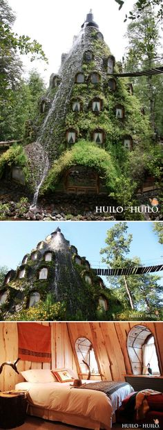 Montaña Mágica Lodge / Huilo Huilo, Chile >>> i want to stay here!