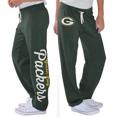 2e4967d26 Women's Green Bay Packers G-III 4Her by Carl Banks Green Scrimmage Fleece  Pants