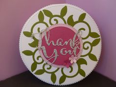 Card made using X-cut  filigree layered flowers die for Die-Cutting Essentials