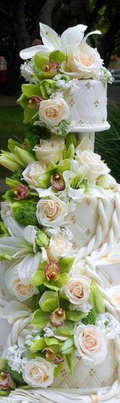 Beautiful Floral Cake...