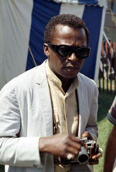 Miles Davis at Newport Jazz Festival, band collar and seersucker Miles Davis, Preppy Clothing Brands, Preppy Brands, Jazz Artists, Jazz Musicians, Santa Monica, Newport Jazz Festival, Seersucker Jacket, Banded Collar Shirts