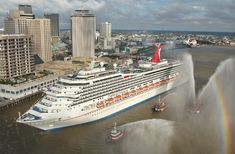 Carnival Conquest in New Orleans