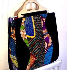 Ankara Handbag Handmade African Fabric Bag by AdaaraAccessories
