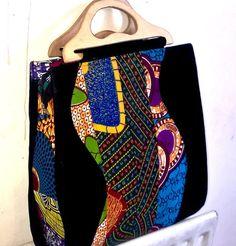 Ankara Handbag ~DKK #Africanfashion #AfricanWeddings #Africanprints #Ethnicprints #Africanwomen #africanTradition #AfricanArt #AfricanStyle #Kitenge #AfricanBeads #Gele #Kente #Ankara #Nigerianfashion #Ghanaianfashion #Kenyanfashion #Burundifashion #senegalesefashion #Swahilifashion