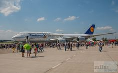 "Lufthansa Boeing 747-8 ""Siegerflieger"" Fanhansa D-ABYI - Check more at https://www.miles-around.de/airline-reviews/lufthansa/sonderflug-mit-dem-lufthansa-siegerflieger-auf-die-ila-2016/,  #AirbusA320neo #BerlinAirshow #Boeing747-8 #Fanhansa #ILA2016 #Lufthansa #Siegerflieger"