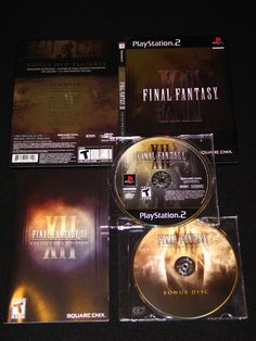 Final Fantasy XII Collector's Edition Bonus DVD Steelbook Case PS2 Near Mint | eBay (case ONLY)