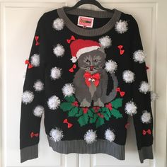 Tipsy Elves - Ugly XMas Sweater Tipsy Elves - Ugly XMas Sweater. Size Medium Tipsy Elves Sweaters Crew & Scoop Necks