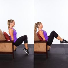 TV Tummy Tucks - The Ultimate Home Workout  Do this total-body, fat-blasting circuit in your living room–no equipment required! Good cross training