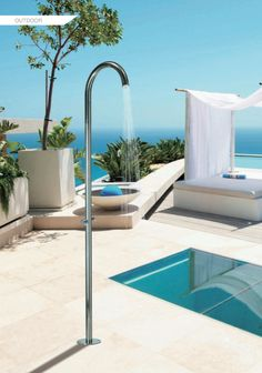 Luxury High Quality Outdoor Showers From Bossini, Italian Design.