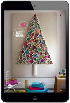 Christmas Boom in Design See more on www.magpla.net Martha Stewart Living iPad Magazine