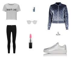 """Untitled #8187"" by mie-miemie ❤ liked on Polyvore featuring Boohoo, Victoria, Victoria Beckham, Prada Sport, MAC Cosmetics, Fendi and Christian Dior"