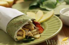 Chicken Apple Bacon Ranch Wraps - Wildtree Recipes. You can order Wildtree products here: www.mywildtree.com/andreaw/