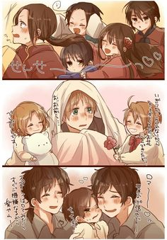 Hetalia this is so cute