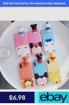 Cartoon cute disney Couple Minnie mickey IMD case cover for iphone X 8 7 plus Cell Phone Deals, Lg Phone, Iphone Phone Cases, Phone Covers, Phone Charger, Kawaii Phone Case, Disney Phone Cases, Diy Phone Case, Cute Cases