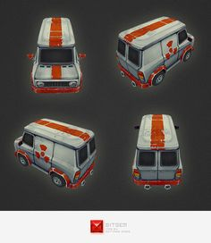 3DOcean Low Poly Car 02 4551070