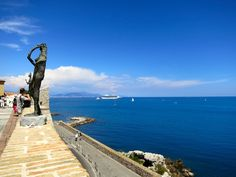 Things to do in the South of France Sculpture in Antibes South of France