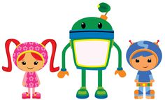 Team Umizoomi Vector by ChameleonCove on deviantART