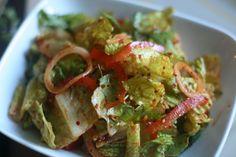Spicy Korean Style Salad: Good things come to those that wait | Week of Menus