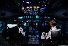 The Airbus A380 Cockpit