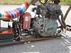 Photo Album: Parts, Pieces and Ideas Photo Album: Rat Rod Lifestyle Small Motorcycles, Mini Chopper, Honda Cb750, Pedal Cars, Mini Bike, Rats, Rat Bikes, Bicycle, Bobbers
