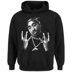 Tupac Westside Hooded Sweater