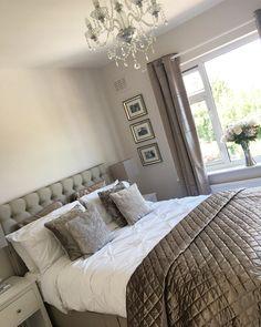 ✨ Our finished bedroom ✨ . Life Tips, Life Hacks, Home And Garden, Decor Ideas, Interior Design, Bedroom, Furniture, Instagram, Home Decor