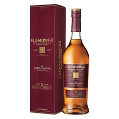 Glenmorangie The Lasanta Sherry Cask Finish Scotch Whisky - Bottle Whiskey Label, Cigars And Whiskey, Whiskey Bottle, Bourbon, Scotch Whisky, Whisky Single Malt, Beverage Packaging, Liquor Bottles, Tent